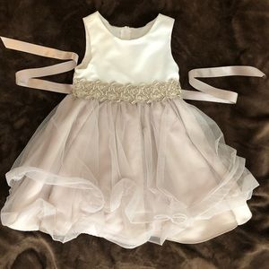 Rare Editions Toddler Flare Dress 3T